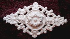 Empire Medallion Plaster Mold, Craft Mold, Decorative Mold, Concrete My previous pin was a stencil, not mold. Finishing Nails, Plaster Of Paris, Concrete Molds, Concrete Crafts, Plaster Molds, Stencil Painting, Decoupage, Victoria, Empire