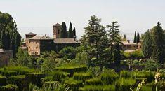 L'Alhambra et les jardins du Generalife. Grenade, Espagne