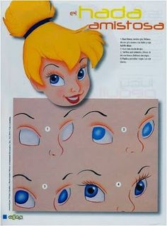 Ideas drawing faces disney eyes for 2019 Eye Painting, One Stroke Painting, Painted Pumpkins, Painted Rocks, Foam Crafts, Diy And Crafts, Shading Drawing, Drawing Faces, Doll Face Paint