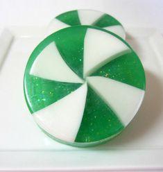 Handmade Soap  Apple Jack Peel Candy  Soap   by asliceofdelight, $5.00