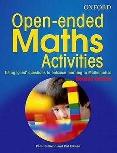 NEW Open-ended Maths Activities By Peter Sullivan Paperback Free Shipping
