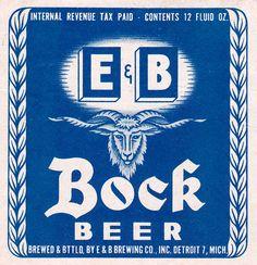 E bock Beer