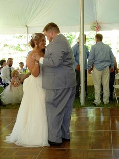 Roy & Carly White Wedding Reception 03 - June 2016. Photos courtesy of Stealth DJ's Mobile Disc Jockey Service of Michigan.