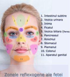 Ez nem semmi lehet: Ha ezeket a pontokat masszírozzuk az arcunkon, akk. Gout Remedies, Herbal Remedies, Natural Remedies, Lose Thigh Fat, Ayurveda, Face Shape Hairstyles, Massage Therapy, Healthy Tips, Beauty Care