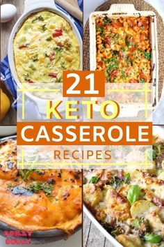 We wanna share 20 absolutely delicious ketogenic casserole recipes that will help you to stay in shape and keep on losing that weight! Ketogenic Breakfast, Ketogenic Diet Meal Plan, Keto Diet Plan, Diet Meal Plans, Ketogenic Recipes, Diet Recipes, Healthy Recipes, Slimfast Recipes, Soup Recipes