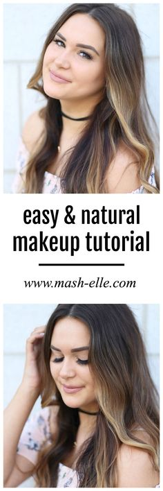 Such an easy look to re-create! Beauty blogger Mash Elle shares a simple makeup tutorial for a barely there makeup look complete with It Cosmetics foundation, It Cosmetics bronzer and highlighter, Anastasia Beverly Hills brow makeup and brush, Wet N Wild Lipstick and Private Label Extensions mink false eyelashes. #ad