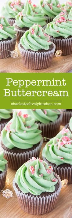 Putting this recipe on #KatieSheaDesign's #Christmas #Holiday Baking to do list: How to make delicious, smooth peppermint buttercream. Perfect for adding a festive twist to your cupcakes, layer cakes or macarons.