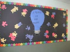 Children's Center of Monmouth County Autism Awareness Bulletin Board