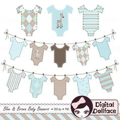 Hey, I found this really awesome Etsy listing at https://www.etsy.com/listing/180546851/baby-clothes-banner-clipart-baby-boy