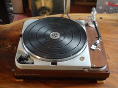 TD124 deck, in a BeoGram 3000 plint and with a Stax UA-7 CF armNone
