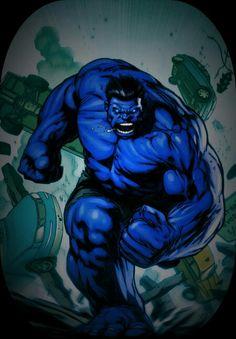 Blue hulk edit