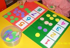 Math Games for Kids- Jogos Matemáticos para Crianças math Mathematical games for kids math and numbers Montessori Math, Preschool Learning Activities, Toddler Learning, Preschool Classroom, Kindergarten Math, Educational Activities, Teaching Math, Preschool Activities, Numbers Preschool