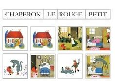 Images séquentielles : le petit chaperon rouge Three Little Pigs Houses, La Petite Taupe, Red Riding Hood, Preschool, Kindergarten, Education, Holiday Decor, Kids, Cycle 1