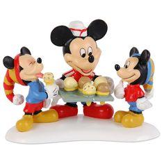 Mickeys Village - Mickey Serving Ice Cream