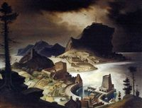 View Franz Sedlacek's artworks on artnet. Learn about the artist and find an in-depth biography, exhibitions, original artworks, the latest news, and sold auction prices. New Objectivity, Original Artwork, Artist, Prints, Painting, City, Scenery, Painting Art, Printed
