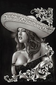 Traditional Fine Art Print Ceeze Charra - Fine Art Prints