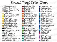 Oracal 651 Vinyl 10 bulk bundle pack - sold by widths of and x or sizes Cricut Air 2, Cricut Vinyl, Vinyl Crafts, Vinyl Projects, Silhouette Projects, Silhouette Cameo, Silhouette Machine, Cricut Tutorials, Cricut Ideas