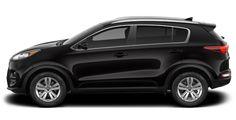2017 Kia Sportage Black northcountykia.com