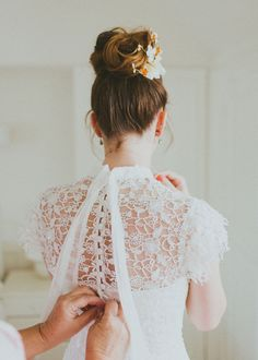"""Liz and Luke said """"We do"""" in October at Millennium Gallery in Sheffield. They wanted a simple and modern wedding with Autumnal colours and plenty of homemade touches."""