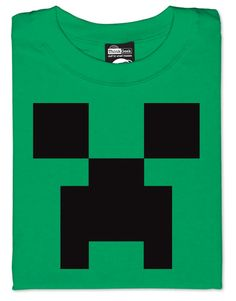 Make a creeper Tshirt as Gift Idea.  Cost of t-shirt at Michaels and Iron on.
