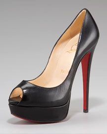 Christian Louboutin Lady Peep-Toe, my idea of a practical Louboutin!