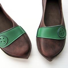 Hand Made Leather Shoes for Women, HOMILY Elven by Fairysteps Shoes. £134,00, via Etsy.