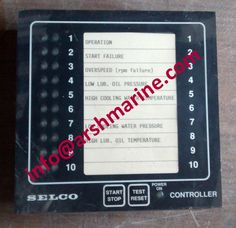 SELCO M2000 Series - Engine Controller www.arshmarine.com