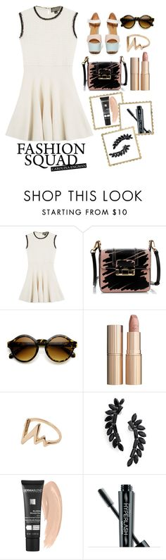 """""""#TheGreatest"""" by juromi ❤ liked on Polyvore featuring Giambattista Valli, Lanvin, ZeroUV, Charlotte Tilbury, Cristabelle, Dermablend, Smashbox and The Cambridge Satchel Company"""