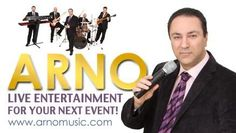 Arno Music - Arno and his band have been playing music together for over 14 years. They have performed at hundreds of weddings, engagement parties, christenings, birthdays and anniversaries throughout the United States.