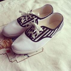 Zapatillas pintadas #diy #b #shoes