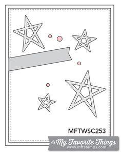 MFT Card Challenges: Wednesday Sketch Challenge - Sketch 253 - #mftstamps