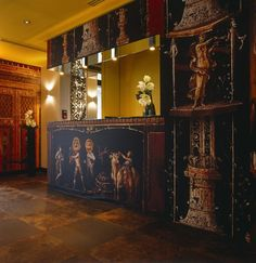Hotel Le Bellechasse, located in Saint-Germain, Paris designed by Christian Lacroix                                                   Welcoming