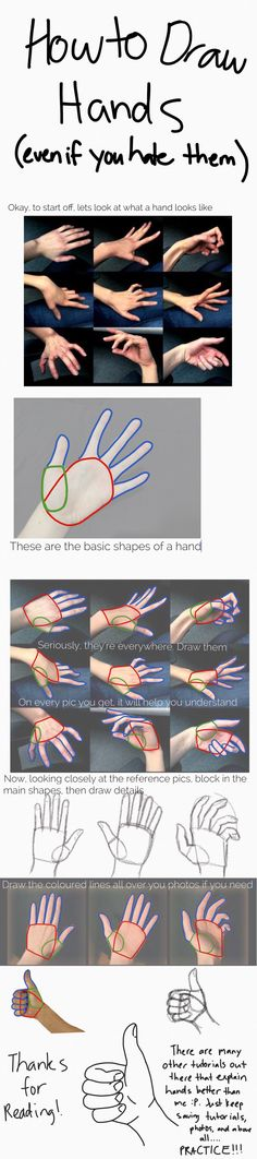A messy hand tutorial. Seriously guys, I can't stress how much you need to just keep drawing and practicing. Also look at heaps of tutorials, like so many, they will all have different bits of info that will prove useful