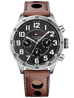 Reloj Tommy Hilfiger Hombre Multifunción Cuero 1791049