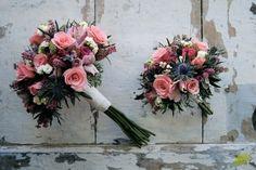 Ramo de novia y miniramo para regalo Mayula Flores
