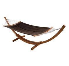Hamaca de madera BALI - Leroy Merlin