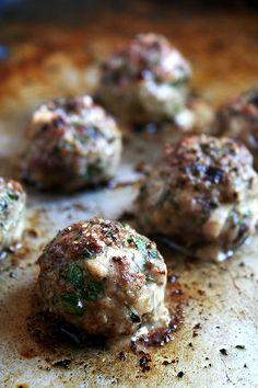 Keftedes (lamb meatballs)