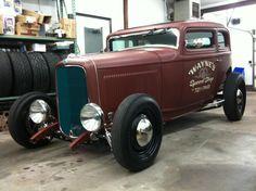 1932 Ford Victoria rod