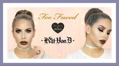 Better Together  Too Faced X Kat Von D   PALETTE REVIEW + TUTORIAL + SWA...