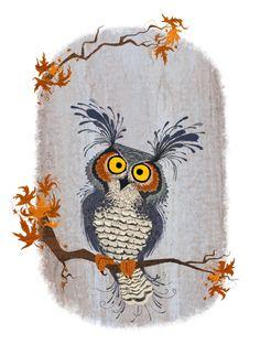 owl by Zaruhi Galstian
