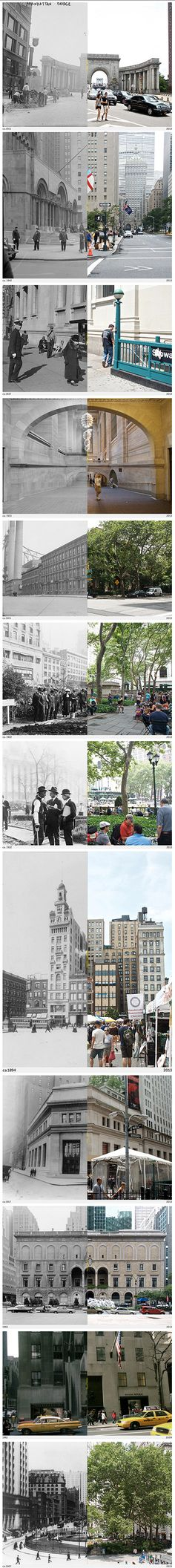 12 Then and Now Photos of NYC That Show How Much It's Changed - Here & There