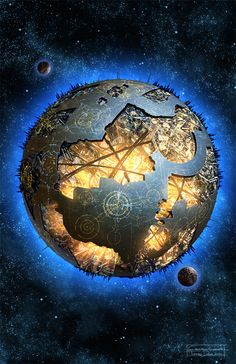 Cybertron, home planet of the Autobots and Decepticons (~6,300 km, Transformers)