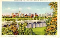 I remember thus bridge in Oak Cliff, a forgotten part of Dallas.