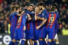 El Barcelona goleó 4-0 al Borussia Monchengladbach con triplete de Turan