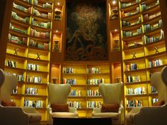 Celebrity Equinox's library - must book this ship