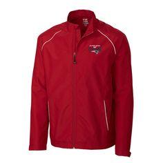New England Patriots Cutter & Buck Super Bowl LI Champions Big & Tall Beacon Full-Zip Jacket - Red - $109.99