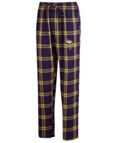 646c36742a2c Concepts Sport Men s Minnesota Vikings Homestretch Flannel Sleep Pants -  Purple L