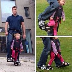Father makes boots to give paralyzed daughter the sensation of walking. Faith in humanity restored. Sweet Stories, Cute Stories, Awesome Stories, Beautiful Stories, Crazy Stories, Beautiful Moments, News Stories, Wonderful Things, Awesome Things