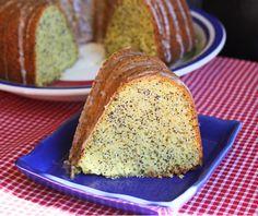 Almond Poppy Seed Bundt Cake from Jamie Cooks It Up!