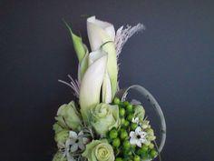 bruidsboeket - wit lang detail falenopsis boechout